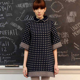 lauren moffatt - dot dress FW 2012