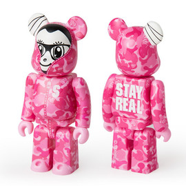 BE@RBRICK - STAYREAL PINK CAMO ベアブリック