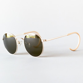 Shuron Ronstrong - Wire Frame Sunglasses Gold
