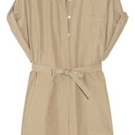 Boy. by Band of Outsiders - Cotton-poplin safari dress