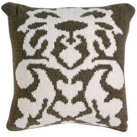 kashwere - DAMASK CUSHION COVER
