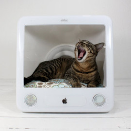 AtomicAttic - Upcycled Apple Computer Pet Bed