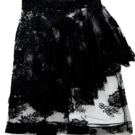 Simone Rocha - DOUBLE-LAYERED LACE SKIRT