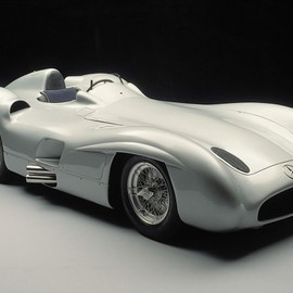 Mercedes-Benz - Mercedes-Benz racing car W 196 R with streamlined body, 1955