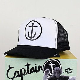 Captain Fin - [CAPTAIN FIN Co.] ORIGINAL ANCHOR Standard Trucker Hat