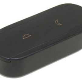 HERMES - Wood Pill Case  2cells    Black