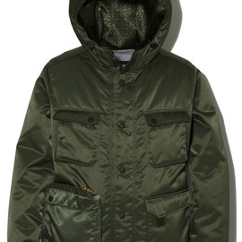 White Mountaineering - PORTER×White Mountaineering/PORTER POCKET NYLON FIELD MOUNTAIN PARKA