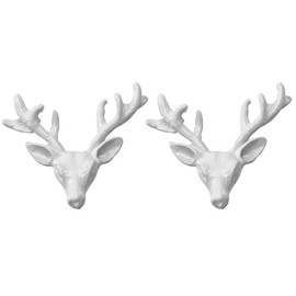 WILDFOX - Deer Stud Earrings in Matte White