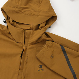 CPFU® - Rip-Stop Nylon Stretch Hood Zip Jacket - Coyote