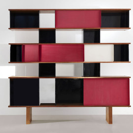 Charlotte Perriand - Bookshelve, ca1957, Unique piece