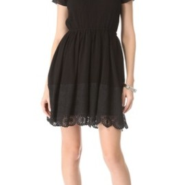 Girl. by Band of Outsiders - 2013SS Short Sleeve Dress with Lace