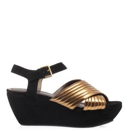 Marni - Marni Suede wedge sandals