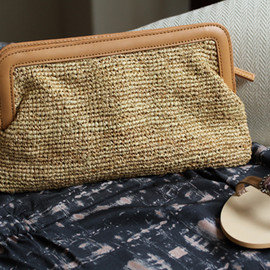Hat Attack - Leather Clutch Bag