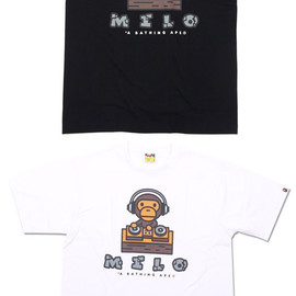 A BATHING APE - MILO DJ TEE