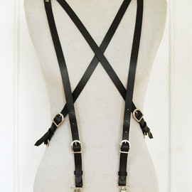 Zana Bayne - 6-Point Suspenders