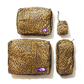 THE NORTH FACE PURPLE LABEL - PERTEX Leopard Print Packing Cases LE  LEOPARD