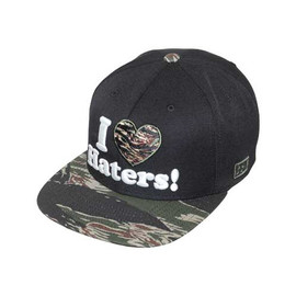 DGK - HATERS SNAPBACK (Black/Tiger)