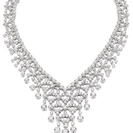 BVLGARI - ,Bvlgari diamond necklace.