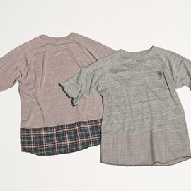 CYDERHOUSE - SWITCHOVER PLAID T-SHIRTS
