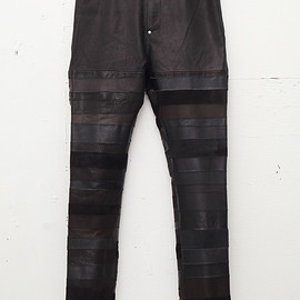 NADA. - Leather hagi pants