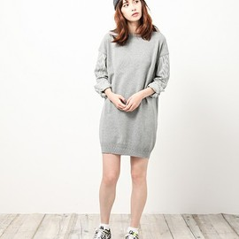 iliann loeb - HIGH TWIST COTTON & HICKRY dress