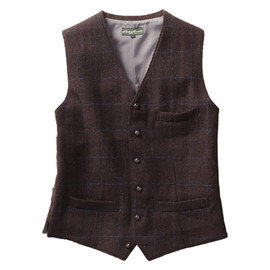 Eddie Bauer - Harris Tweed Wool Vest