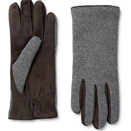 Loro Piana - Gregory Cashmere and Suede Gloves