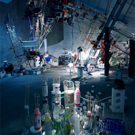 Sarah Sze  - Just Now Dangled Still 08
