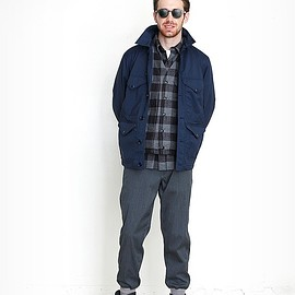 BEAMS PLUS - Windstopper® Mackinaw Jacket
