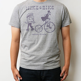 PAPERSKY × DIAGNL - HIKE & BIKE T-Shirts