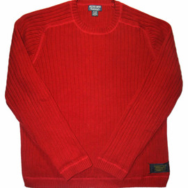 RALPH LAUREN - Vintage Ralph Lauren Polo Jeans Company Red Sweater Mens Size XL