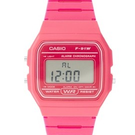 CASIO - Casio F-91WC-4AEF Digital Pink Watch