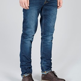 Nudie Jeans - Grim Tim - Crosshatch Worn In