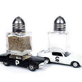 Partners & Spade - Rolling Salt & Pepper Shakers