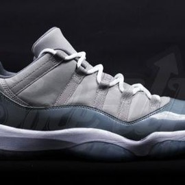 Nike - NIKE AIR JORDAN XI LOW COOL GREY