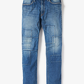 "NONNATIVE - FARMER 4P JEANS TIGHT FIT C/P 13oz DENIM STRETCH VW ""RUSSELL"""