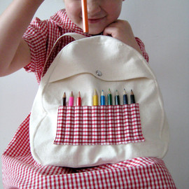 leonandcoco - Baby & Toddler Backpack with Mini Pencils