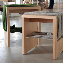 Tommaso Bistacchi - Serie FW stools and benchies