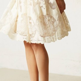 anthropologie - Ivoire Dress lace