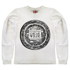 The Orphan's Arms - Image of WILDE white long sleeve t-shirt