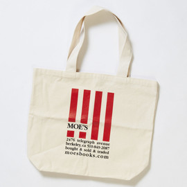 Moe's Books - Tote Bag