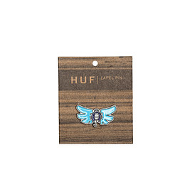 HUF - HUF X SLAP BUTTERFLY PIN // BLUE
