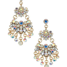 TOPSHOP - Flower Chandelier Earrings