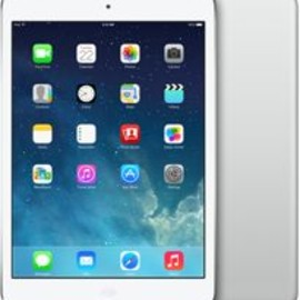 Apple - iPad mini with Retina Display 16GB Wi-Fi + Cellular (Silver)