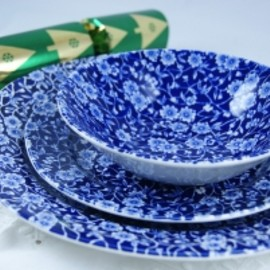 Burleigh - plates (classic Calico pattern)