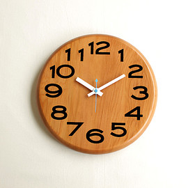 Landscape Products - Cheese Clock #red cedar