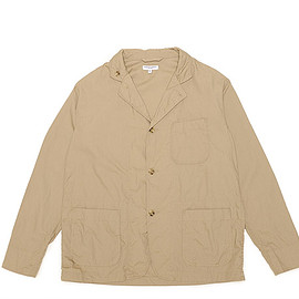 ENGINEERED GARMENTS - Loiter Jacket-Pima Poplin-Khaki