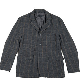 ENGINEERED GARMENTS - LDT Jacket-HB/Windowpane-Grey