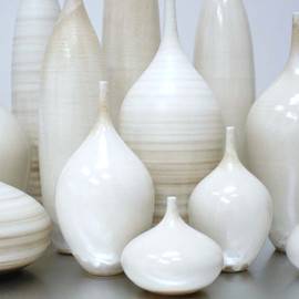 7 piece White Matte Bottle Collection by Sara Paloma