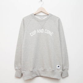 cup and cone - Arch Logo Crew - Grey